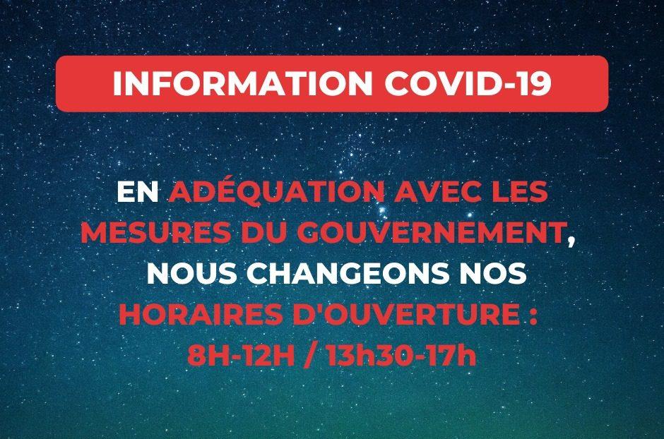 infos covid BSM Negoce
